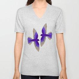 Purple Martins Unisex V-Neck