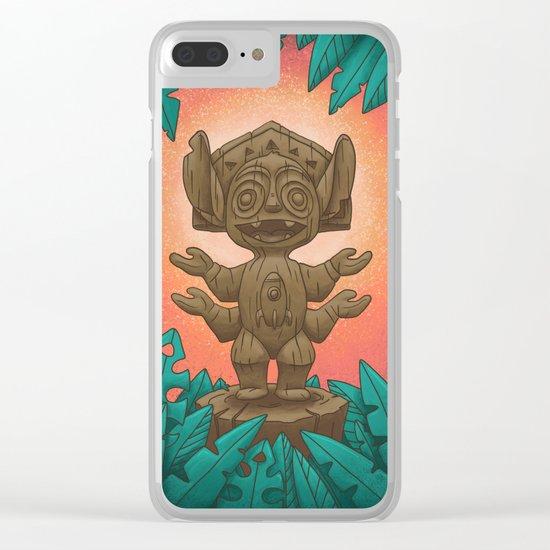 Tiki 626 Clear iPhone Case