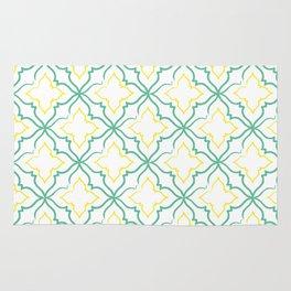 Alhambra Tile Pattern Rug