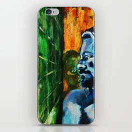 bath room situation number 357 iPhone Skin