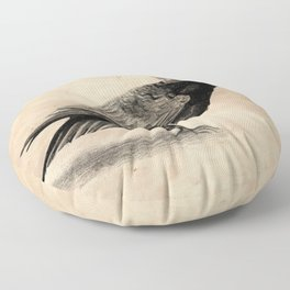 Raven Floor Pillow