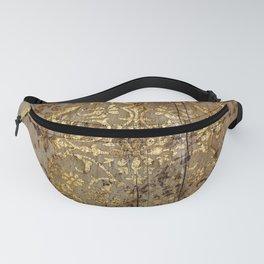 Vintage Gold Pattern Fanny Pack