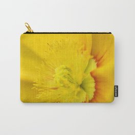 Iceland Poppy Close Perspective Carry-All Pouch