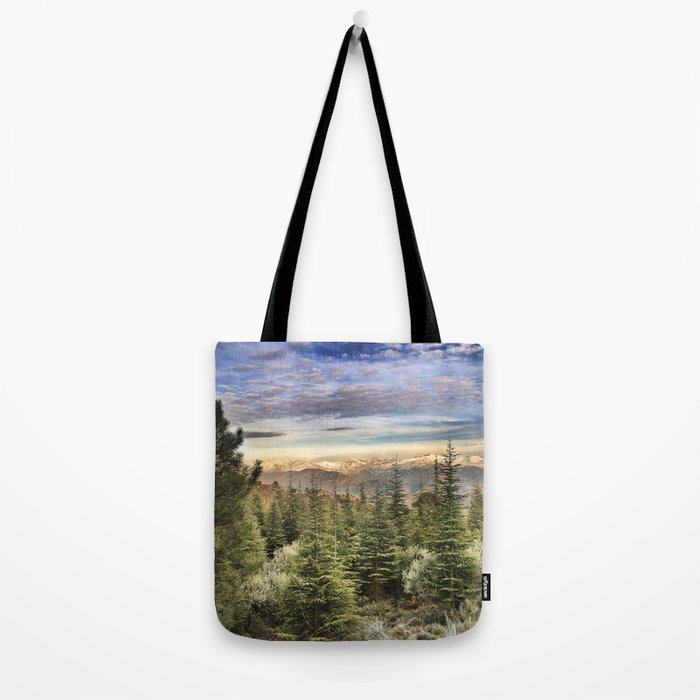 """""""Wildderness"""". Adventure at the mountains... Tote Bag"""