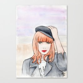 Miss P. Canvas Print