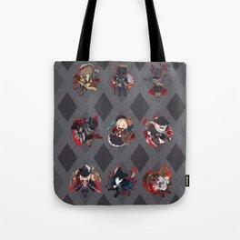 Bloodborne Argyle Tote Bag