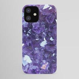 Raw Amethyst - Crystal Cluster iPhone Case