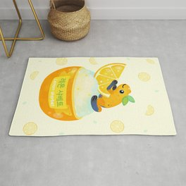 Golden poison lemon sherbet 2 Rug