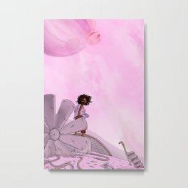 Bug Girl Metal Print