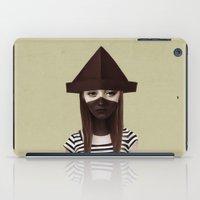 ruben iPad Cases featuring Ceci n'est pas un chapeau by Ruben Ireland
