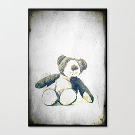 sitting teddy bear... Canvas Print