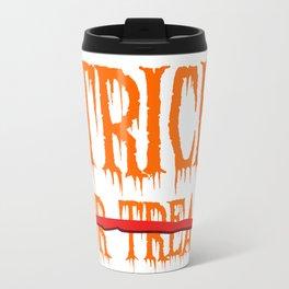 Trick, no Treat Metal Travel Mug