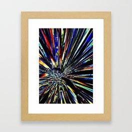 Star Plant Framed Art Print