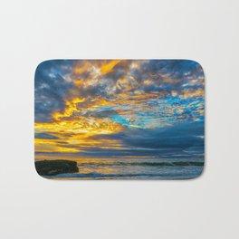 Sunset Sky Over Laguna II Bath Mat