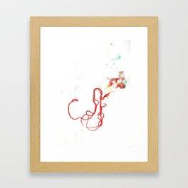 Thread Drawing no. 1 Framed Art Print