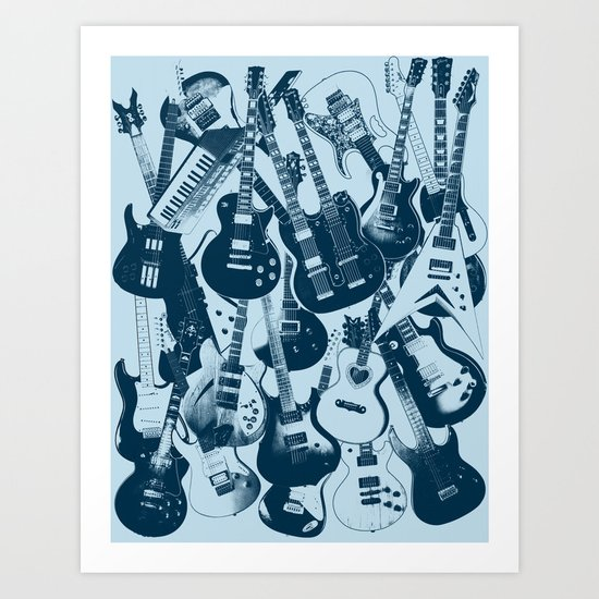 Not a Guitar Solow Art Print