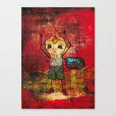 Give me skull Canvas Print