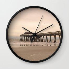 Tybee Island Wall Clock