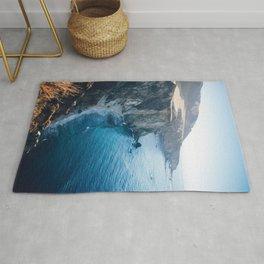 Hidden Beach - Beach Cliffs Rug