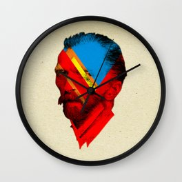 Vincent Red Mix Wall Clock