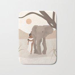 Spirit Animal – Elephant Bath Mat
