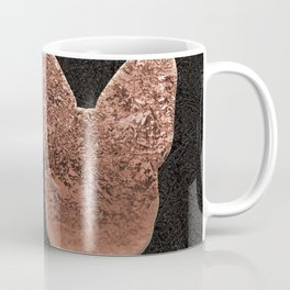 Rose golden embossed Frenchy Coffee Mug