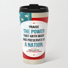Preserved us a Nation Metal Travel Mug