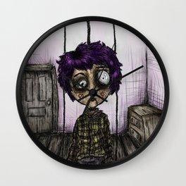 Little Puppet Wall Clock