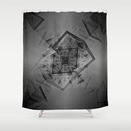 Takes heed under nary dark emanation reminiscence. Shower Curtain
