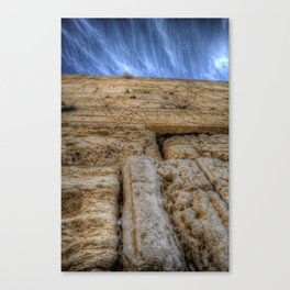 The Wailing Wall Series #3 Canvas Print