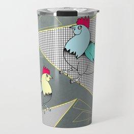 Coq français - French rooster Travel Mug