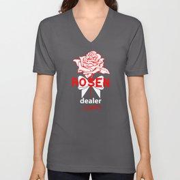 Rose Dealer Unisex V-Neck