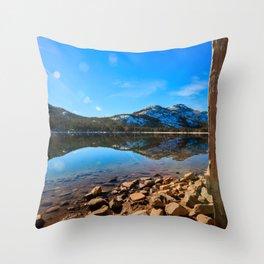 Donner Symmetry Throw Pillow