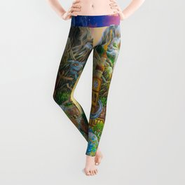 Magical Mystery Tour Color Edit Leggings