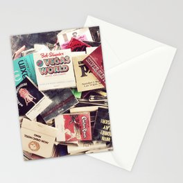 Vintage Matchbook Collection Stationery Cards