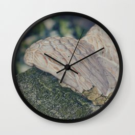 Broke Wings Wall Clock