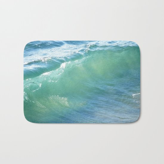 Teal Surf Bath Mat