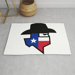Bandit Texas Flag Icon Rug