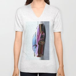 Mitsubishi Eclipse Artrace custom. Unisex V-Neck