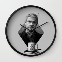 The blogging army doctor Wall Clock