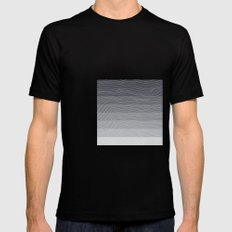 Topography by Friztin Mens Fitted Tee Black MEDIUM