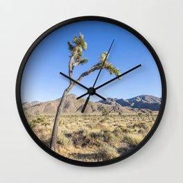 Joshua Tree Scenery Wall Clock
