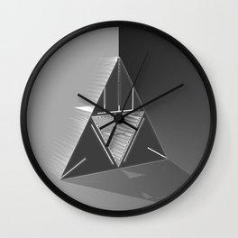 Light futurist. Wall Clock