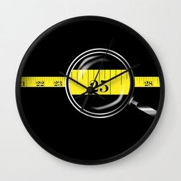 Tape Measure Border Wall Clock
