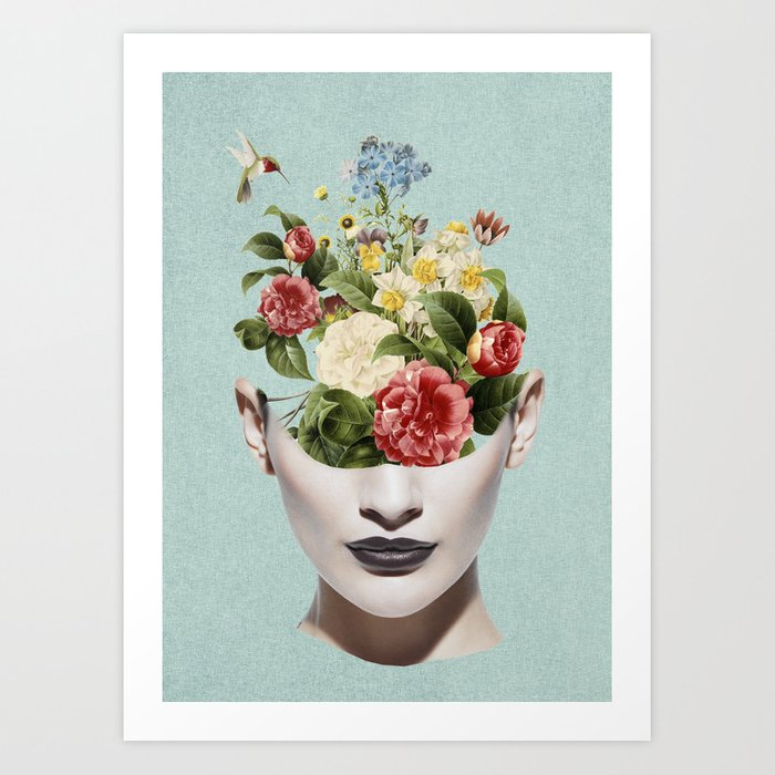 beautiful garden Art Print