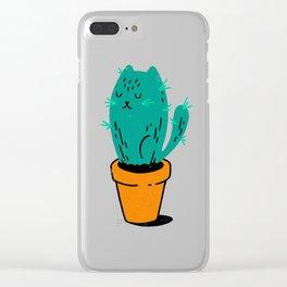 Cat-tus Clear iPhone Case