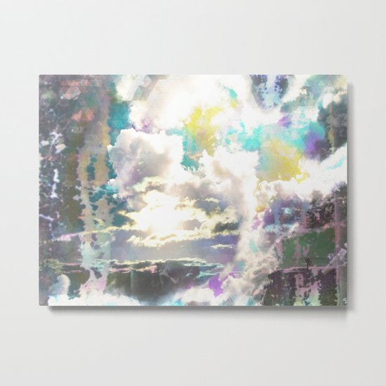Prism Bubble Bursting Metal Print