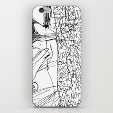 Line and Words - 2 iPhone & iPod Skin