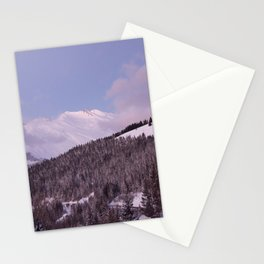 Purple Moutain Mont Blanc Stationery Cards