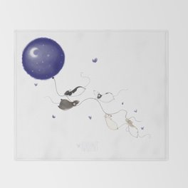 Moon and Stars *New* Throw Blanket